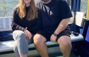 Сергей Жуков показал фото со своей старшей дочерью, которая живёт в США