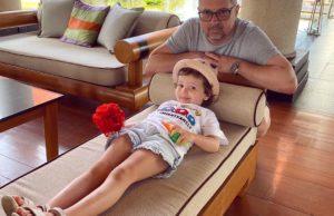 Алексей Рыжов показал фото со своей женой и милой младшей дочерью