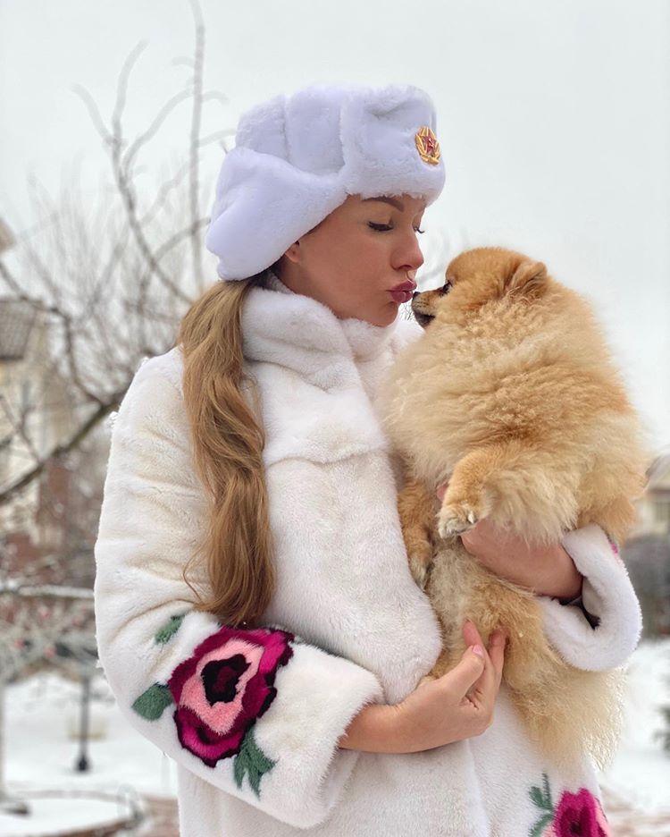 Наталия Иванова с Орлушкой