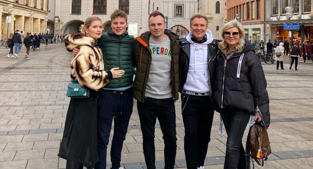 Семейство Малининых встретилось в Мюнхене. Александр Малинин показал фото