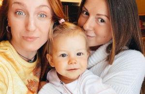 Нюша показала милое фото со своей дочкой и сестрой