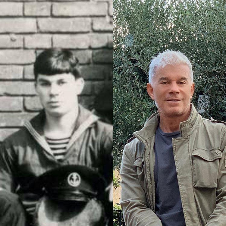 Олег Газманов на службе в армии и нынешнее фото