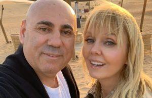 Валерия и Иосиф Пригожин отметили 17-летие со дня знакомства