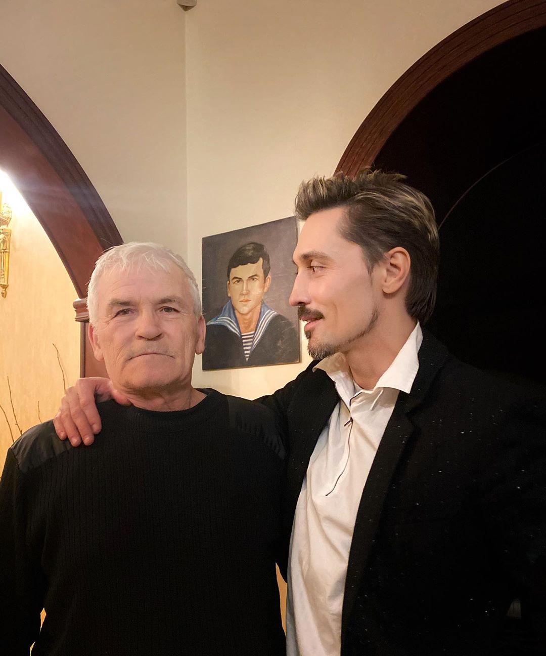 Дима Билан с отцом