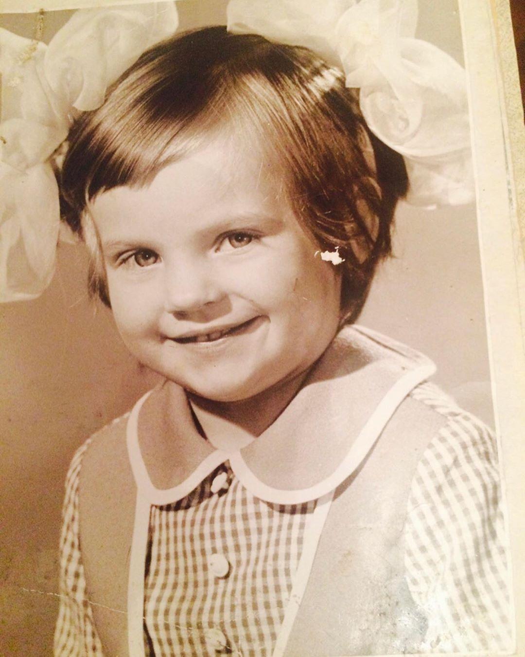 Ирина Ортман в детстве