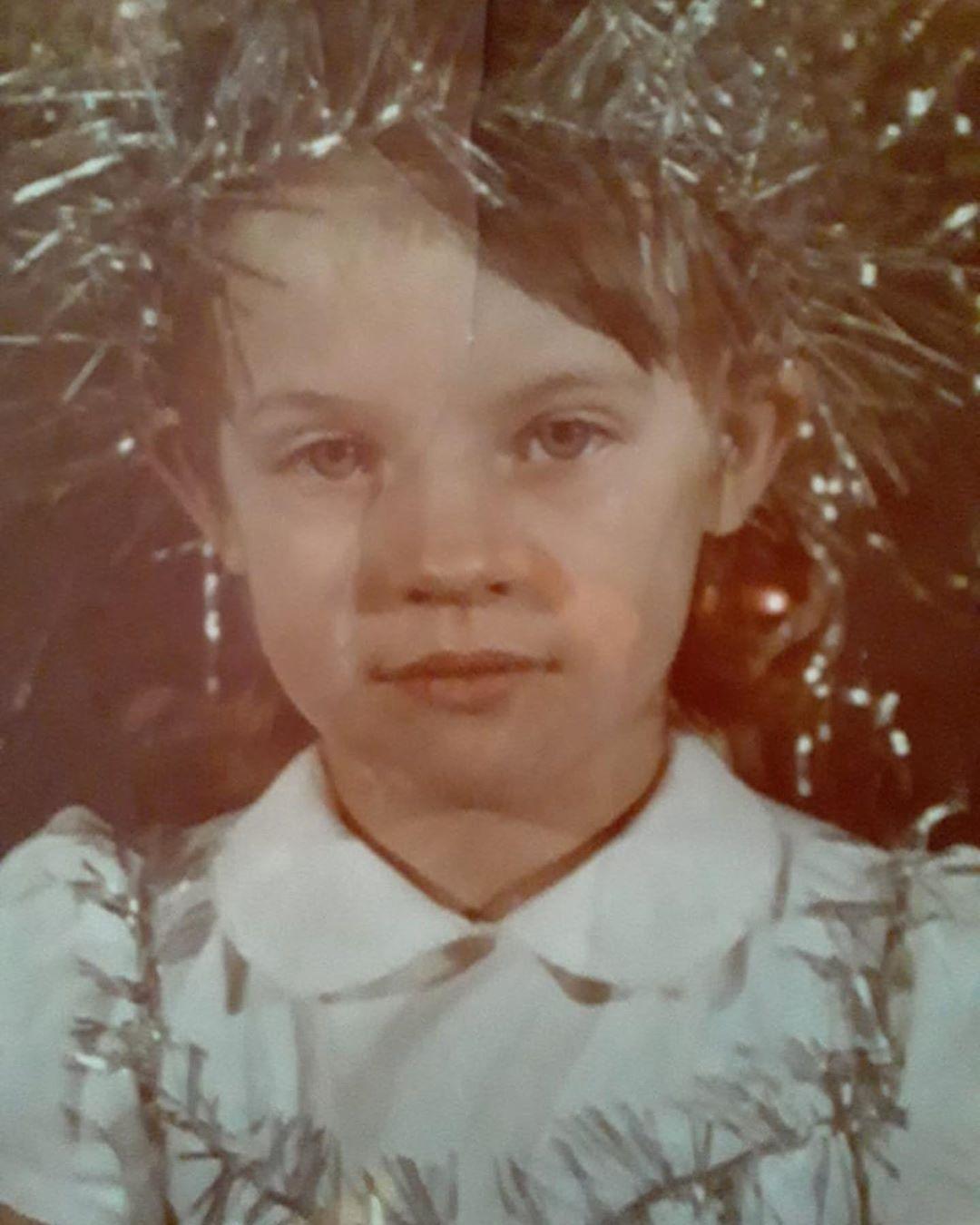 Маленькая Ирина Ортман