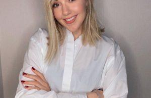 Юлианна Караулова показала образ с прической с челкой