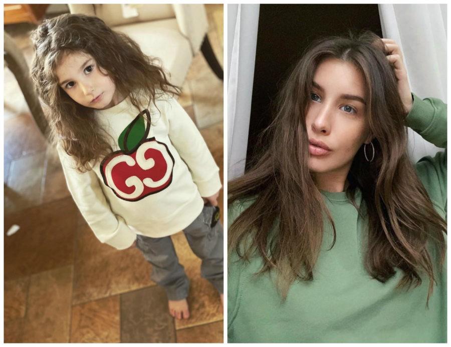 Кети Топурия показала 2 новых фото своей красивой дочки