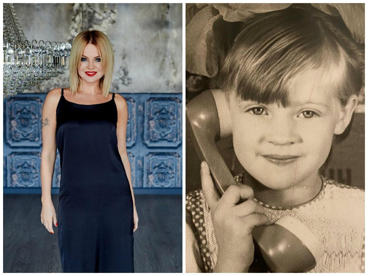 Ирина Ортман показала несколько своих детских фото