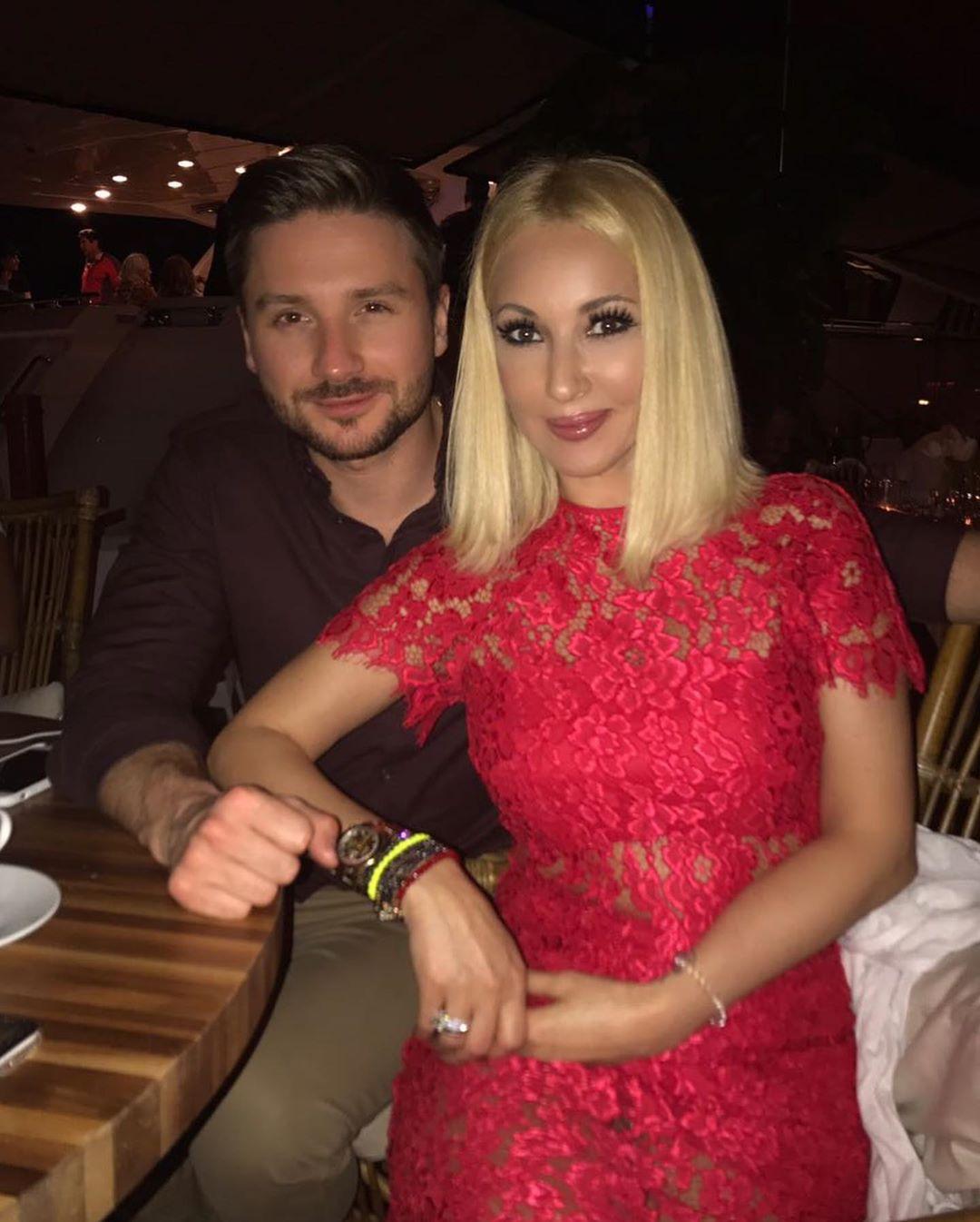 Лера Кудрявцева с Сергеем Лазаревым
