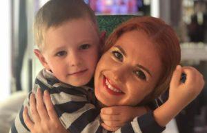 Сыну экс-участницы группы «Тату» Лены Катиной исполнилось 5 лет