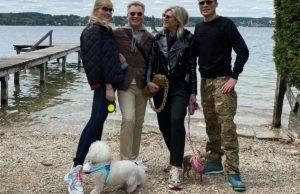 Александр Малинин показал фото с воскресной прогулки с семьей