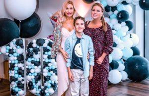 Анна Семенович показала фото с Дня рождения сына фигуристки Гребенкиной