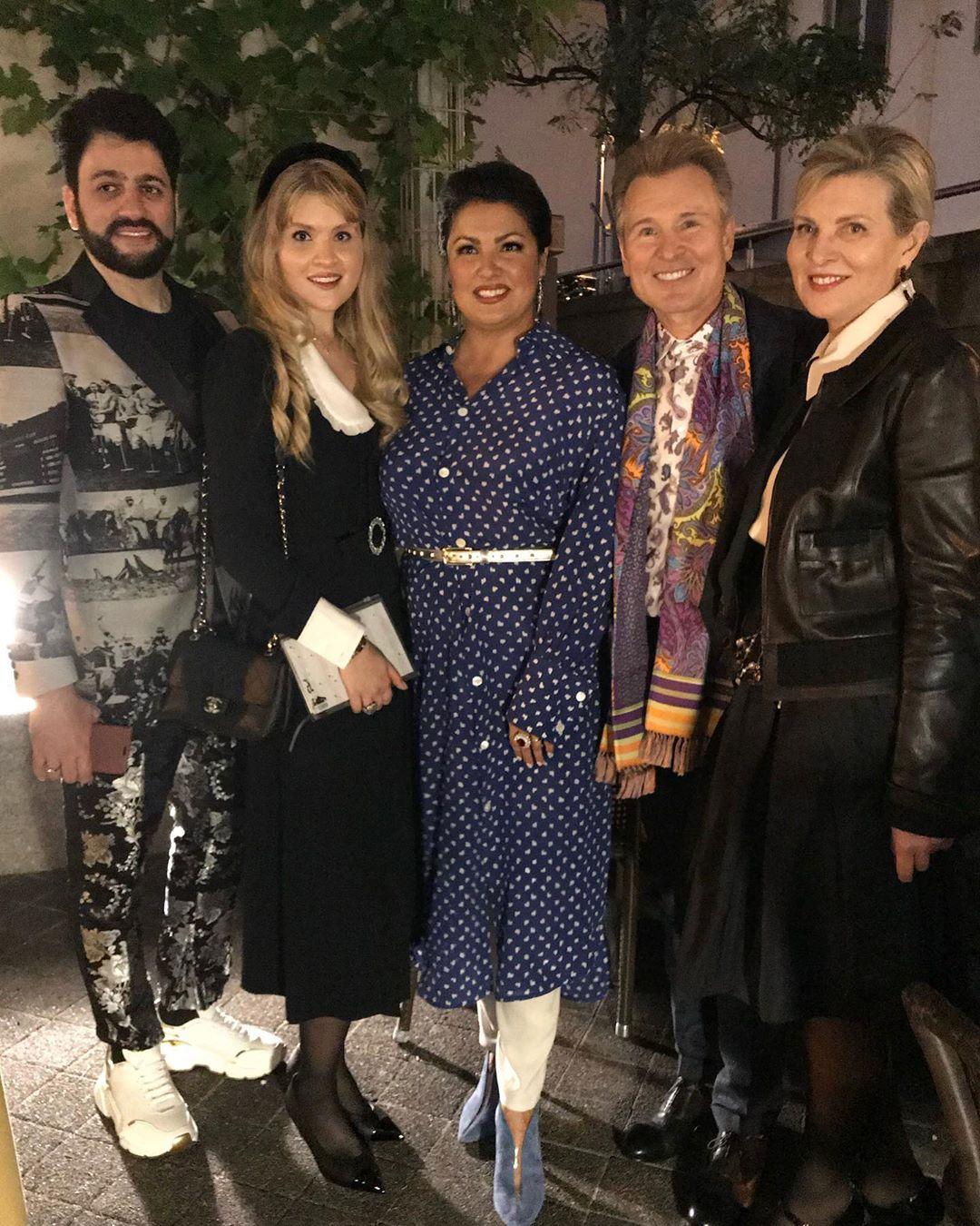 Семья Малининых и звезды мировой оперы