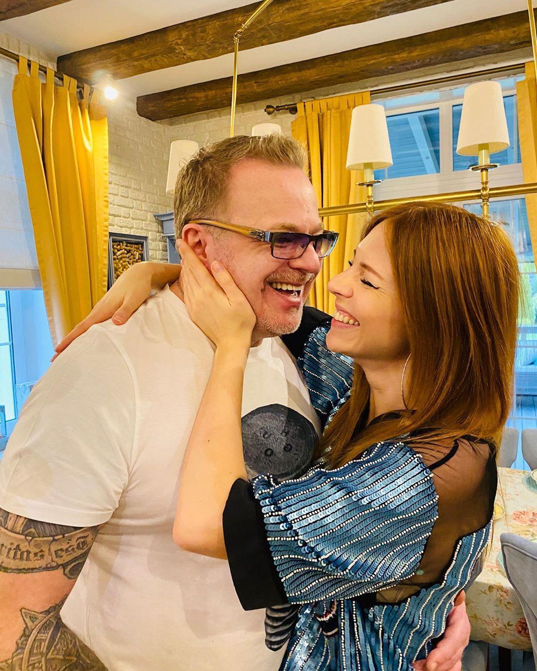 Владимир Пресняков и Наталья Подольская отметили двойной праздник