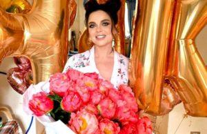 Наталья Королева показала фото со своего Дня рождения