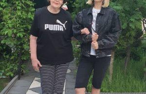Валерия наконец-то смогла встретиться и прогуляться со своей мамой