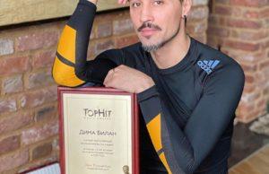 Дима Билан признан самым популярным артистом на ради по итогам прошлого года