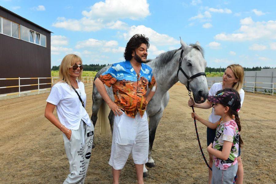 Филипп Киркорова с детьми