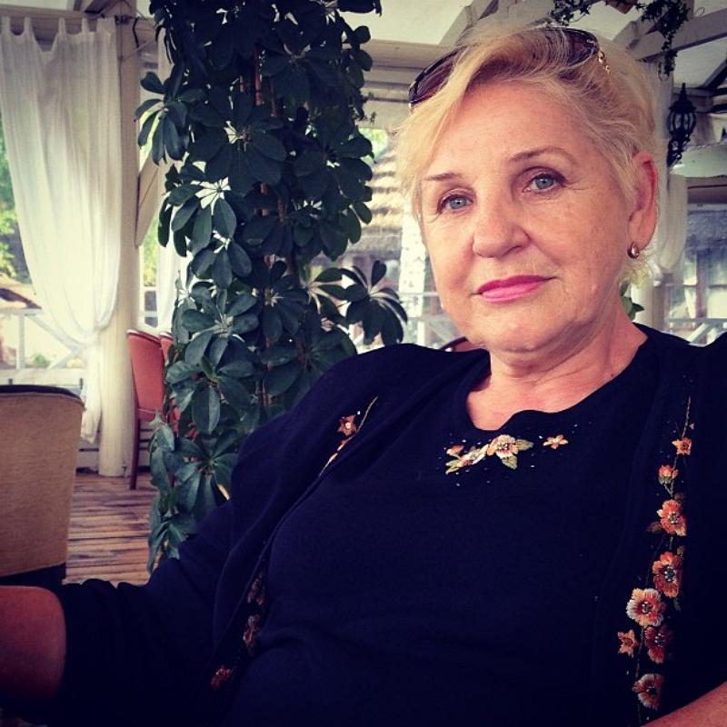Юлия Ковальчук показала фото своей мамы
