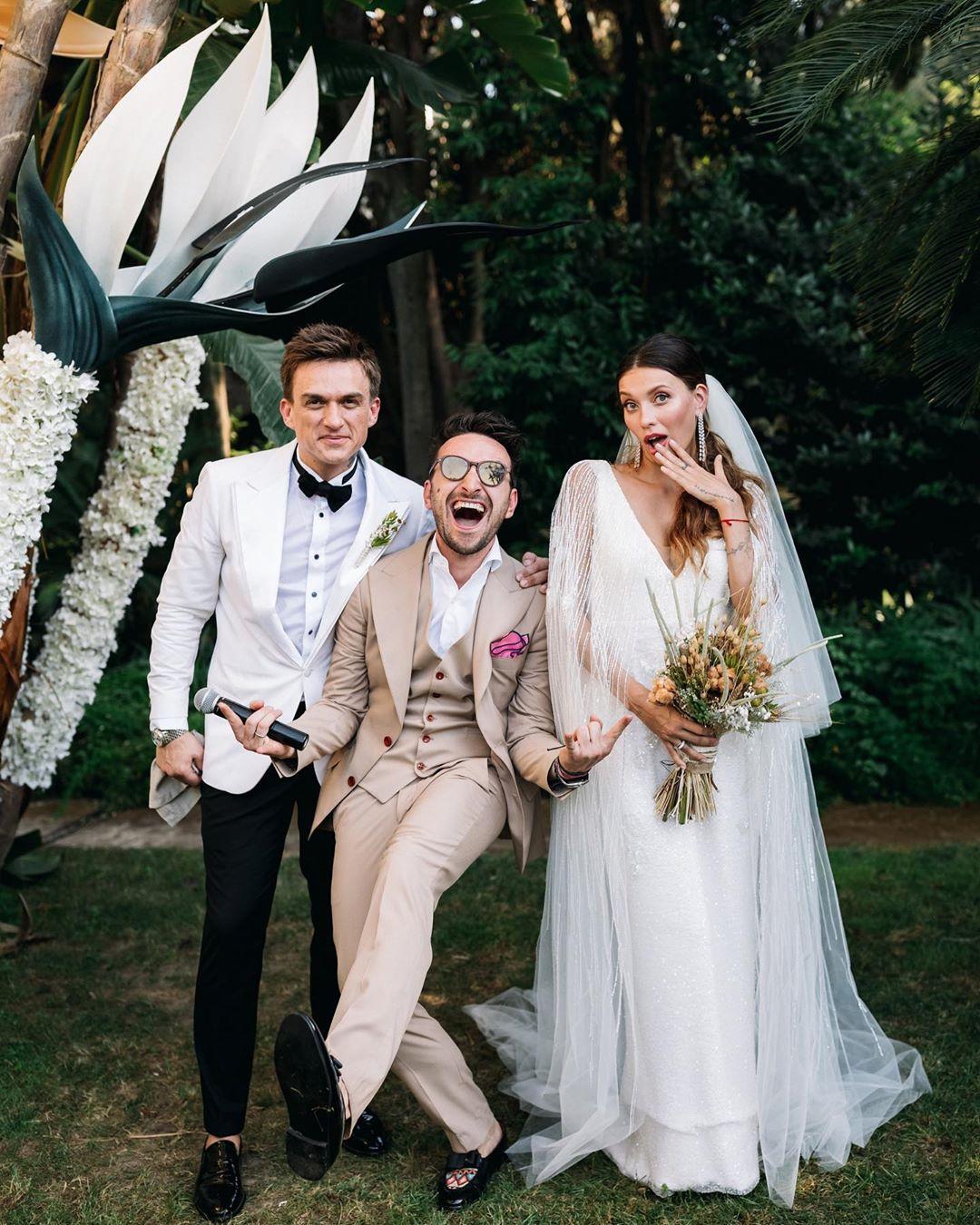 Фото со свадьбы Тодоренко и Топалова
