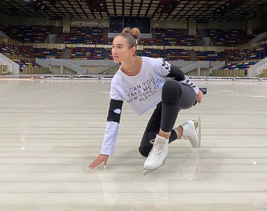 Ольга Бузова начала движение к новой цели. Теперь в качестве фигуристки