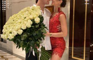 Дава и Ольга Бузова отметили годовщину отношений