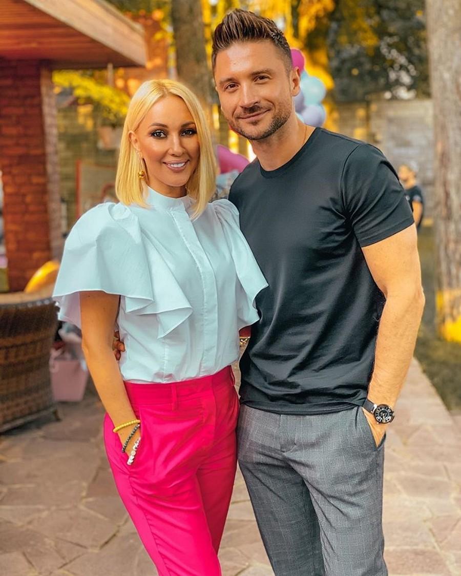 Сергей Лазарев познакомил свою дочку с дочкой Леры Кудрявцевой
