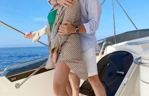 Александр Малинин с женой Эммой танцуют на яхте