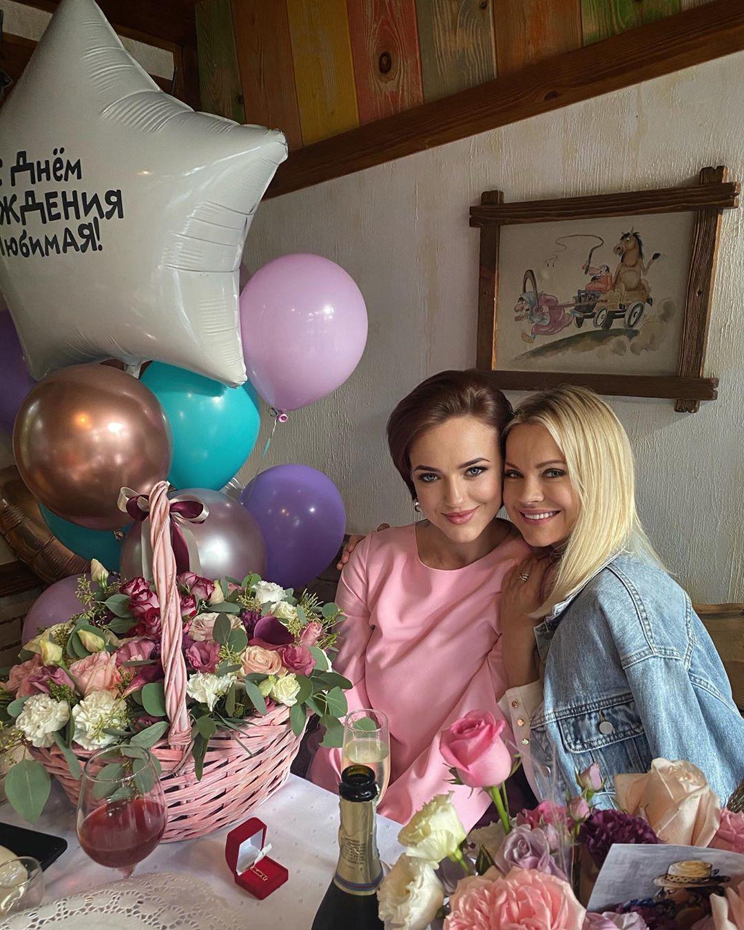 Ирина Ортман с сестрой Полиной
