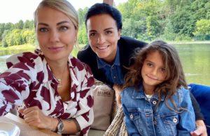 Певица Слава показала видеоролик с Дня рождения своей сестры