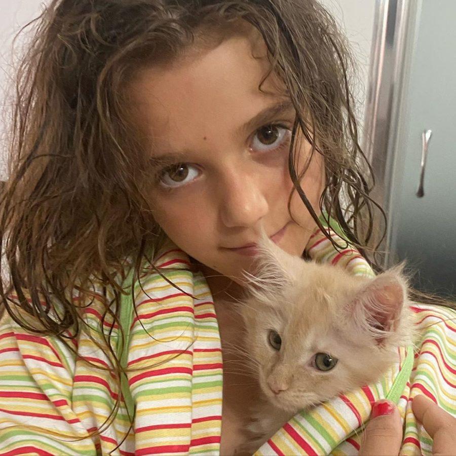 Певица Слава показала видео с подросшей красавицей-дочерью Тоней
