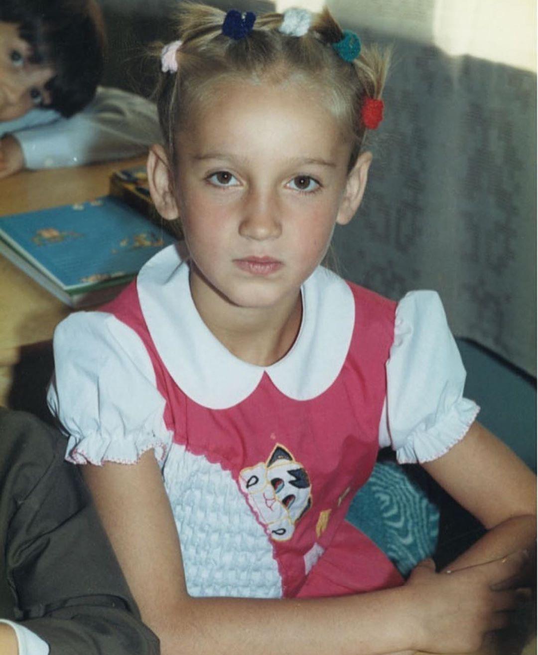 Ольга Бузова уже в детстве задавала тренды