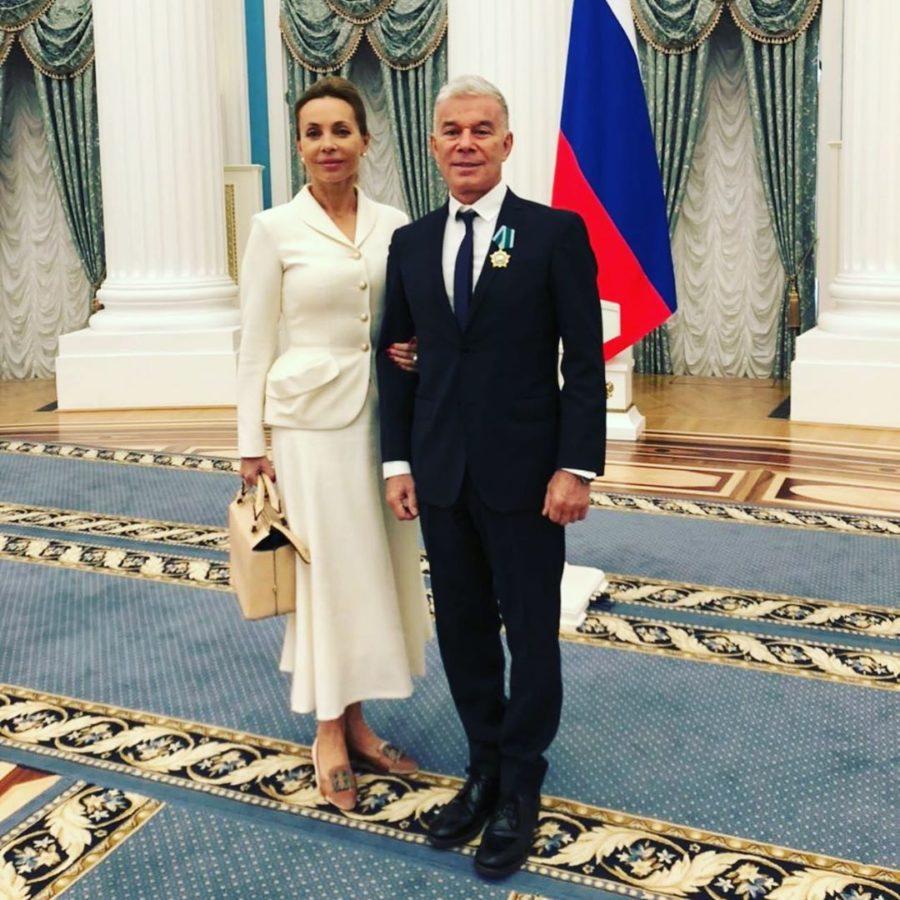 Олег Газманов с женой Мариной