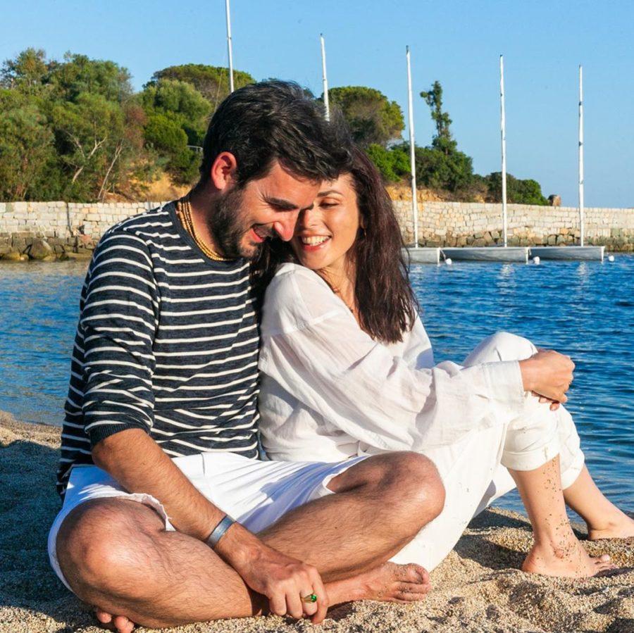 Сати Казанова показала фото со своим мужем итальянцем