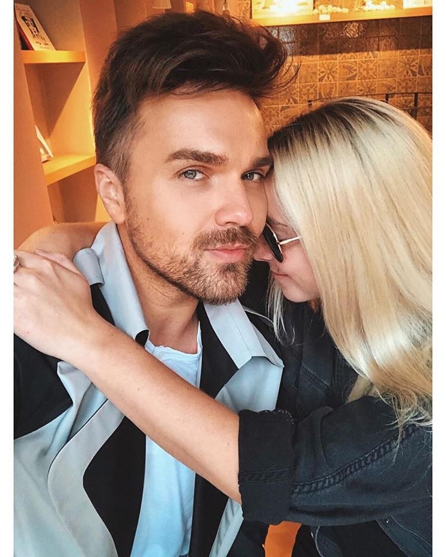 Александр Панайотов показал фото с Ариной Ритц