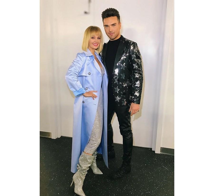 Валерия и Александр Панайтов спели дуэтом на концерте к 75-летию Росатома