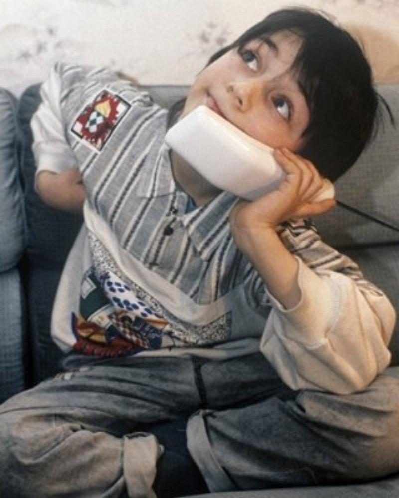 Сын Олега Газманова показал фото, когда он еще был совсем маленький мальчик