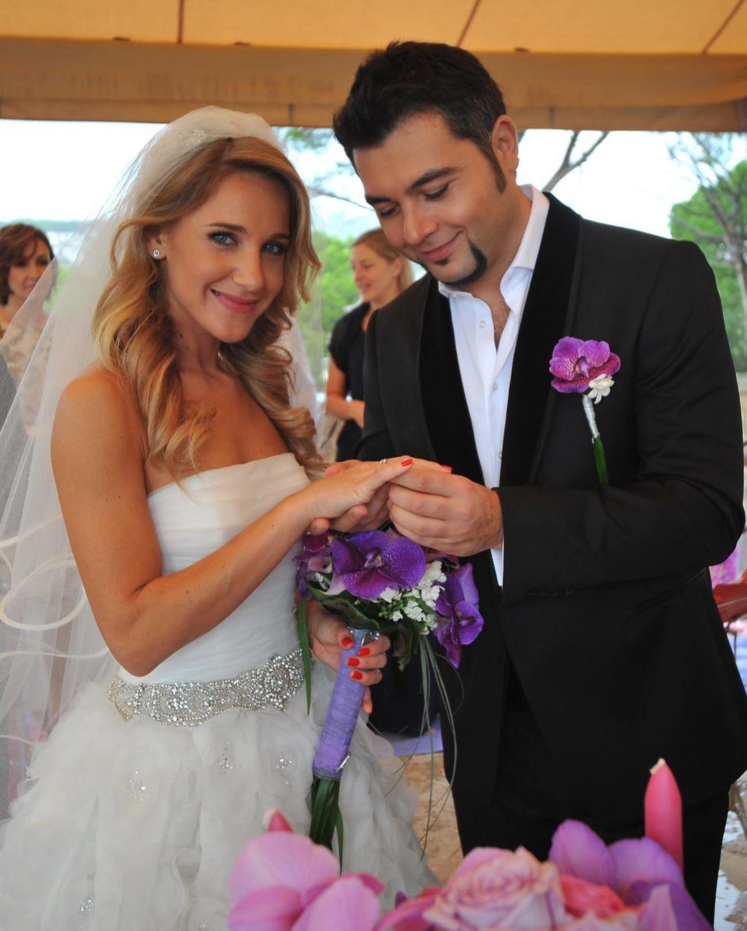 Юлия Ковальчук и Алексей Чумаков отметили медную свадьбу
