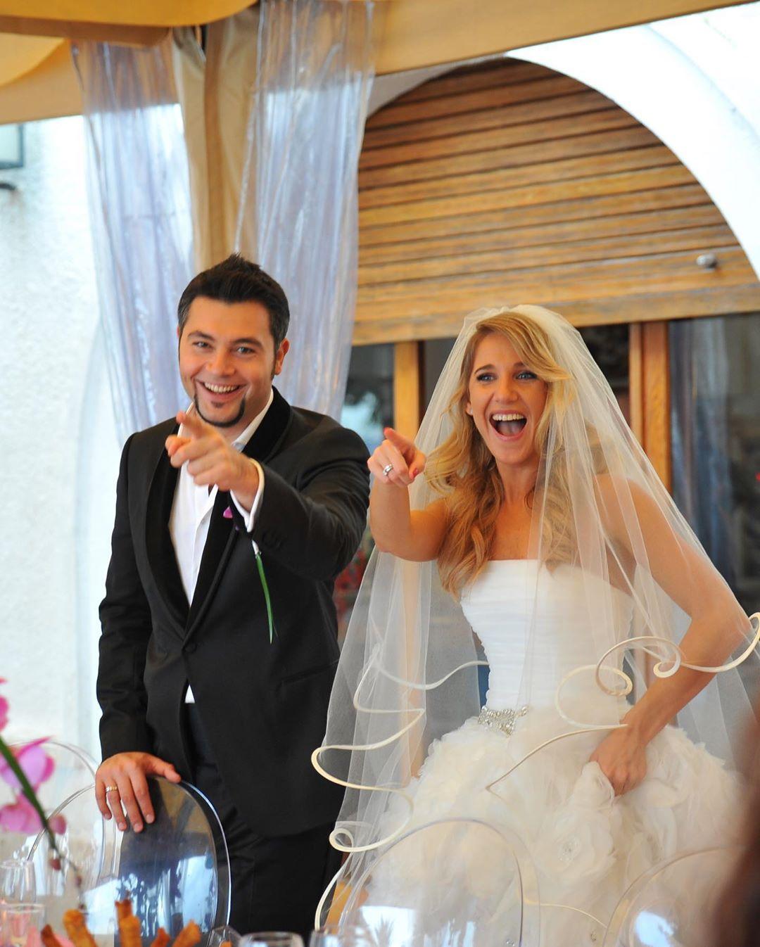 Свадебное фото Юлии Ковальчук и Алексея Чумакова