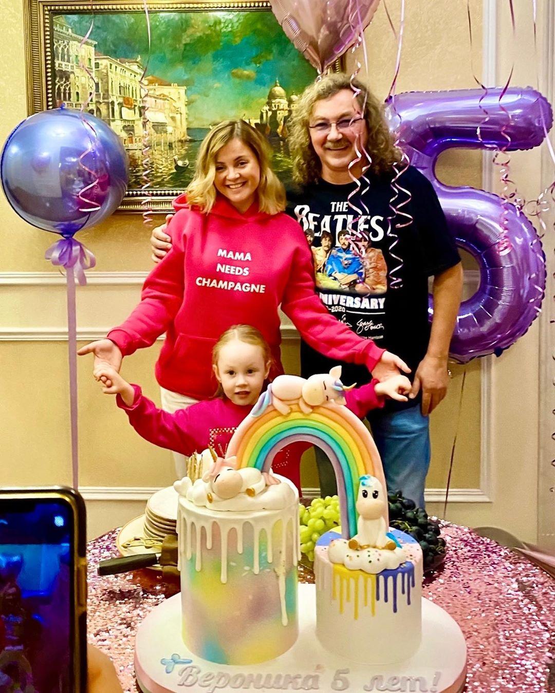Младшей дочке Игоря Николаева исполнилось 5 лет. Фото с Дня рождения
