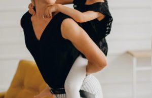 Татьяна Волосожар показала фото дочки, занимающейся балетом