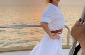 Валерия показала свои фото на яхте, сделанные ее мужем