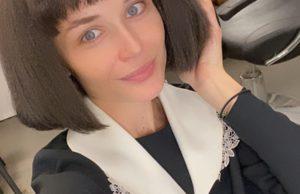 Полина Гагарина показала фото в образе брюнетки с прической каре
