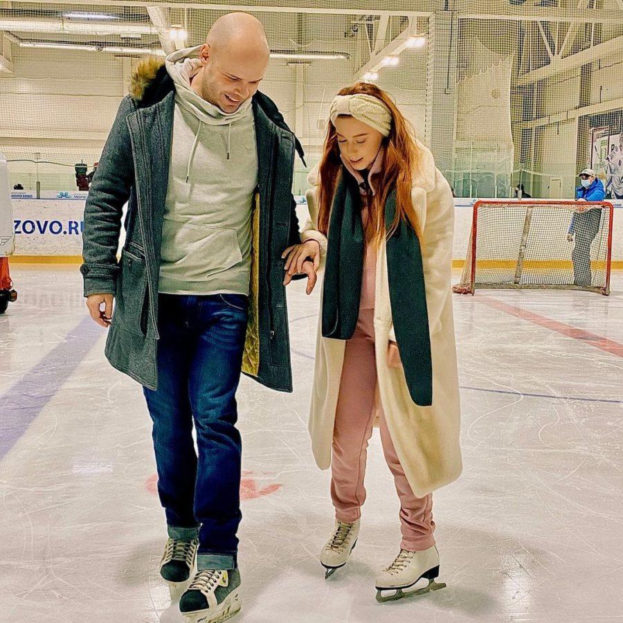 Юлия Савичева снова льду