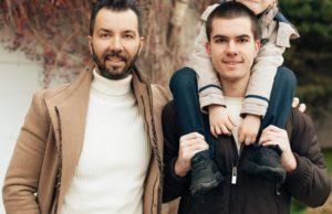 Денис Клявер показал фото со своими сыновьями