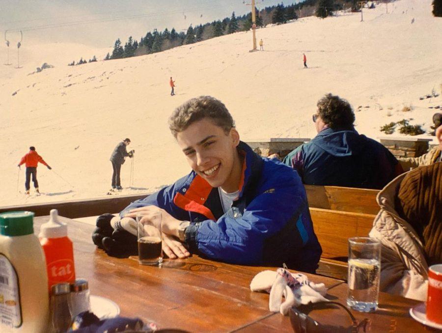 Максим Галкин на горнолыжном курорте в Турции