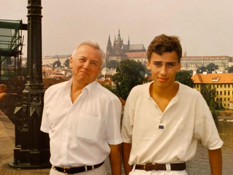 Максим Галкин с отцом