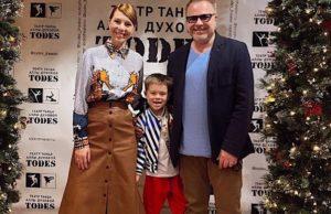 Сын Владимира Преснякова и Натальи Подольской впервые вышел на сцену