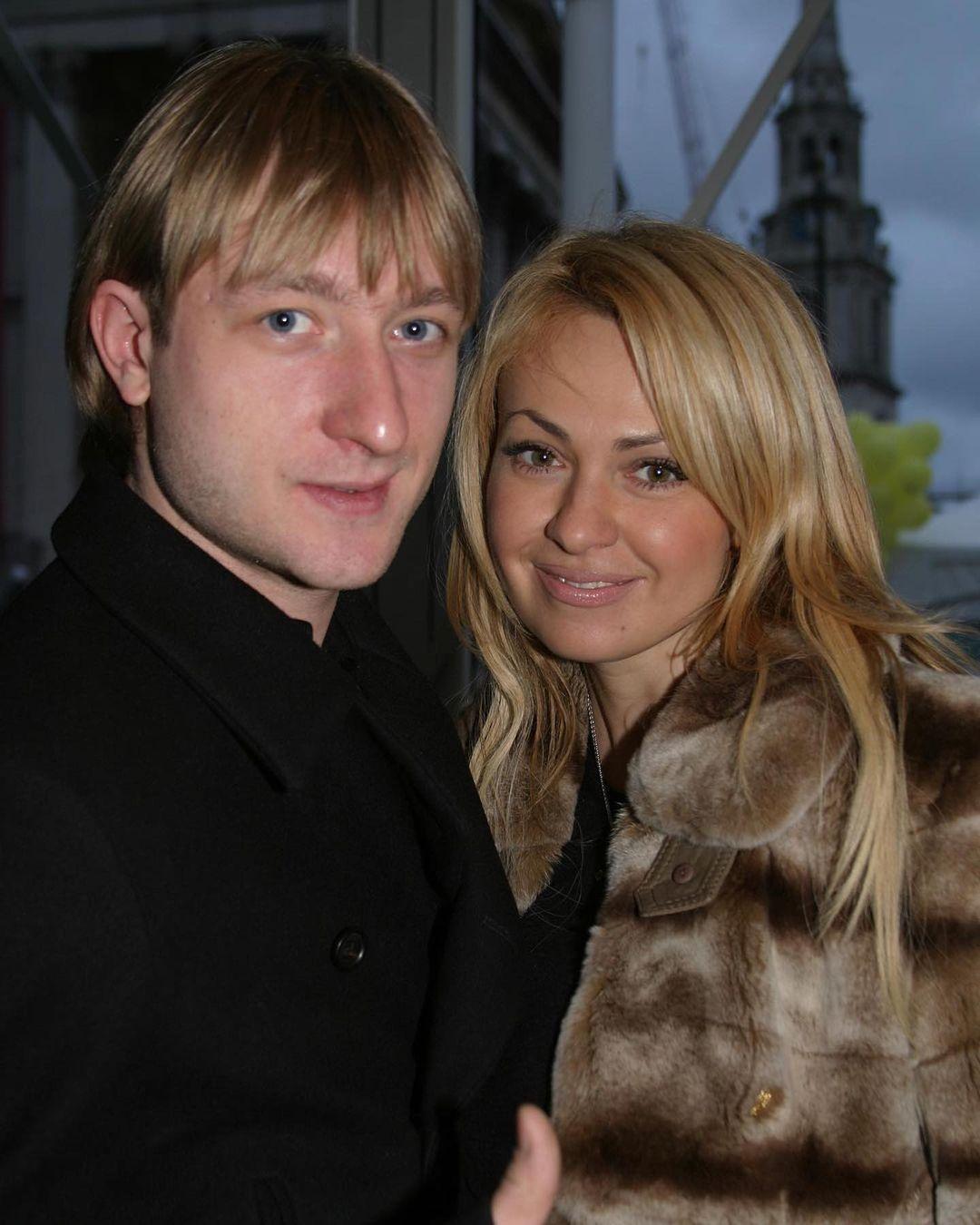 Плющенко и Рудковская отметили 14 лет со дня знакомства
